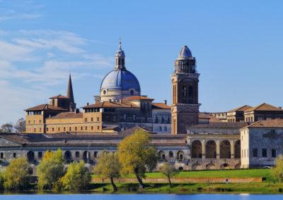 Mantua Cityscape, Lombardy, Italy
